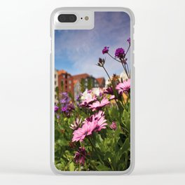 Flowers In Trondheim Clear iPhone Case