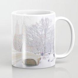 Central Park New York City Snow Day Coffee Mug