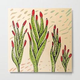 fingernails plant Metal Print