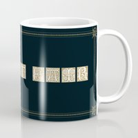 labyrinth Mugs featuring Labyrinth by MacGuffin Designs