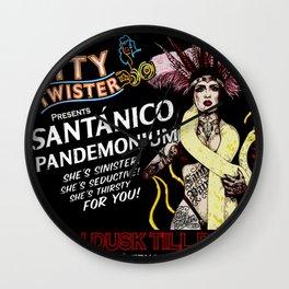 Titty Twister - From Dusk Till Dawn Wall Clock