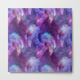 Tamarindo Tropic Purple Metal Print