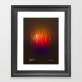 Design Artifact #1 Framed Art Print