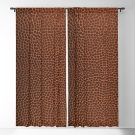 Football / Basketball Leather Texture Skin Blackout Curtain