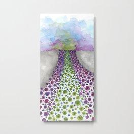 Paths of Color III Metal Print