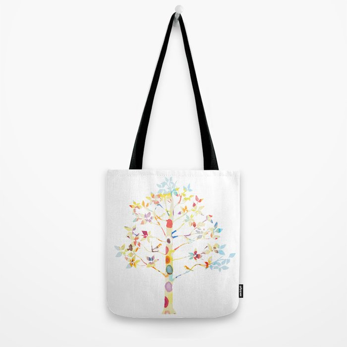 Color Tree Tote Bag