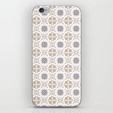 Damask pattern design iPhone Skin