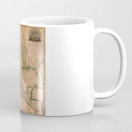 Map of North America Missouri Territory (1826) Coffee Mug