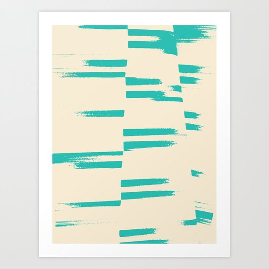 Cali.Sea.Salt. — Matthew Korbel-Bowers Art Print