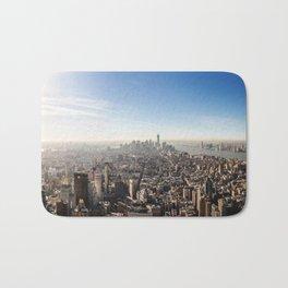 Manhattan Aerial View Bath Mat