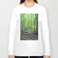 wonderland Long Sleeve T-shirts featuring Wonderland by Darkest Devotion