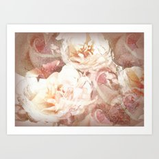 Vie en rose Art Print