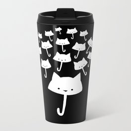 minima - cat rain Metal Travel Mug