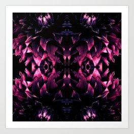 Black Dahlia II Art Print