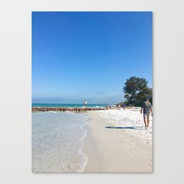Having a walk Canvas Print