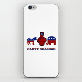 Party Crasher iPhone Skin