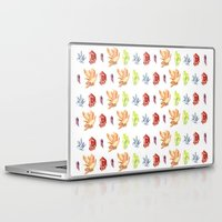 crystals Laptop & iPad Skins featuring crystals by impalei