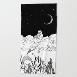 Moon River Beach Towel