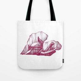 Heart Under Construction Tote Bag
