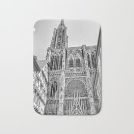 Strasbourg Cathedral Bath Mat