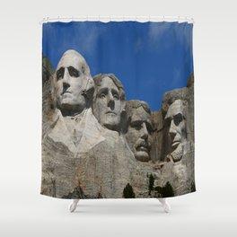 Four Former U S Presidents Shower Curtain