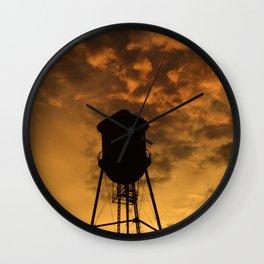 Brooklyn Water Tower Wall Clock