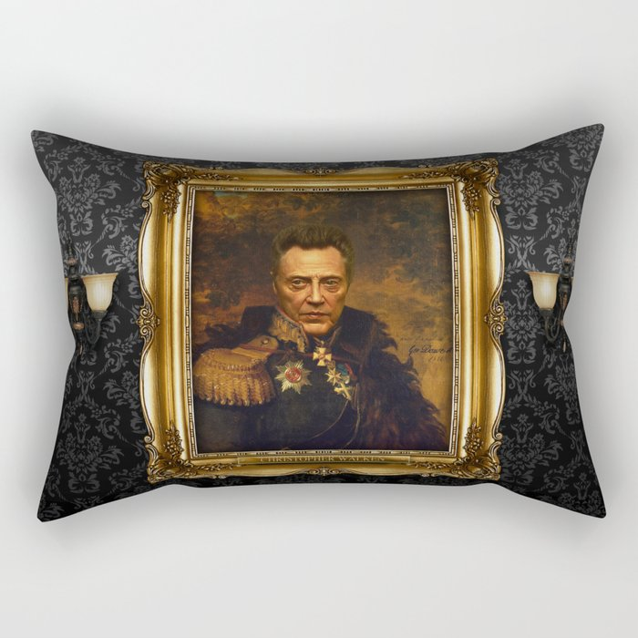 Christopher Walken - replaceface Rectangular Pillow