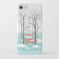 spirit iPhone & iPod Cases featuring Forest Spirit by Freeminds