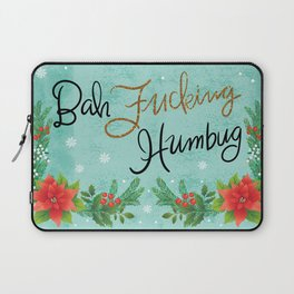 Pretty Sweary Holidays: Bah Humbug Laptop Sleeve
