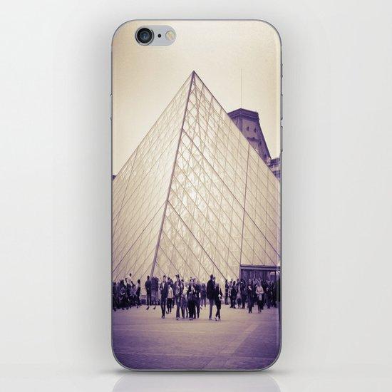 The Purple Pyramid iPhone & iPod Skin