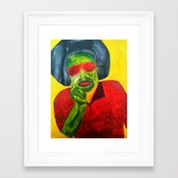 mac Framed Art Prints featuring MAC by Yaz's Gallery