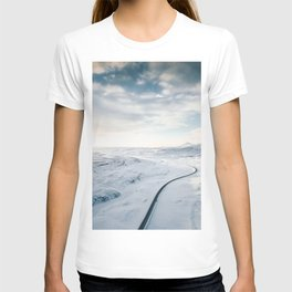 road in iceland T-shirt