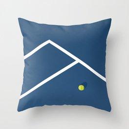 Tennis Court: Australia Throw Pillow
