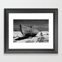 Dungeness Decay Framed Art Print