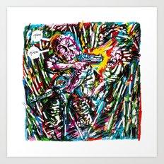 Sharpie, my love 5 Art Print