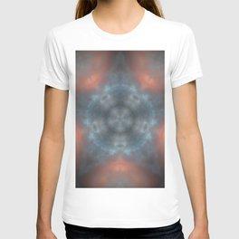 Sunset clouds mandala star T-shirt
