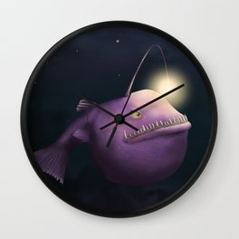 Be the Light Wall Clock