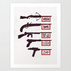 A Brief History of Non-Violence Art Print