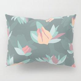 Succulent floral element & patterns IV Pillow Sham