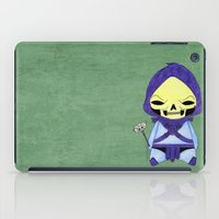 conan iPad Cases featuring A Boy - Skeletor by Christophe Chiozzi