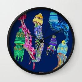 Cool Jellyfish 2 Wall Clock