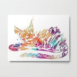 Cat Bonny Metal Print