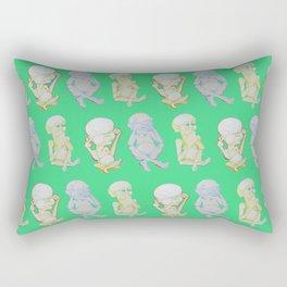 Buddha Babies Rectangular Pillow