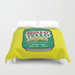 Mello Yello Duvet Cover