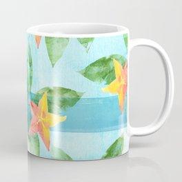 Exotic Star Fruit Pattern Coffee Mug