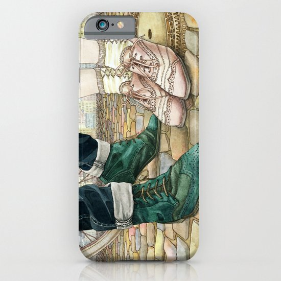 Brogues for a date iPhone & iPod Case