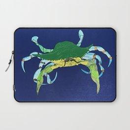Crab Collage Laptop Sleeve