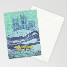 The Lands Where the Reindeer Graze Stationery Cards