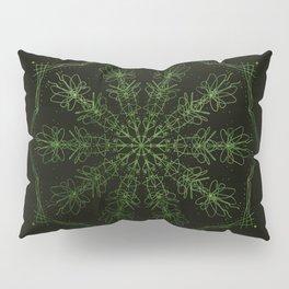 green sun Pillow Sham