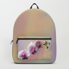 Pastel Rainbow Orchid Backpack